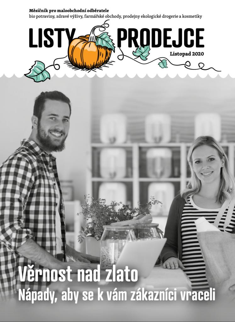 Listy prodejce listopad