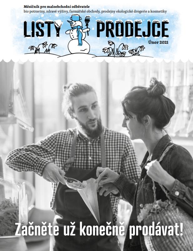Listy prodejce - únor