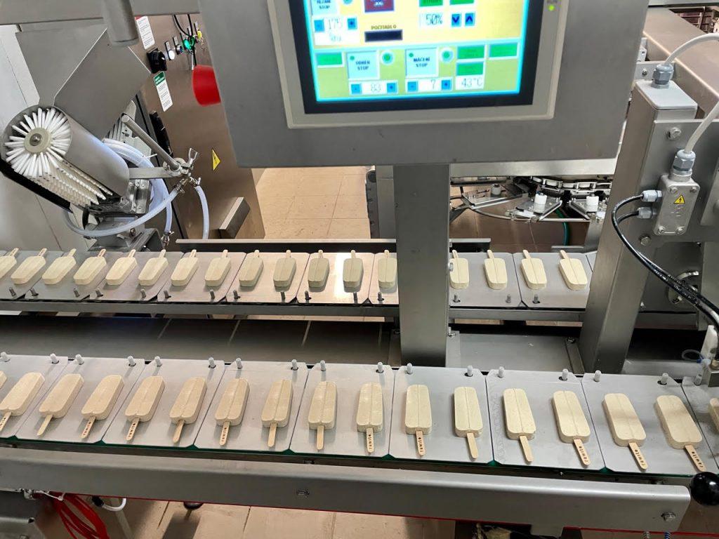 Rawito Ice Dream během výroby