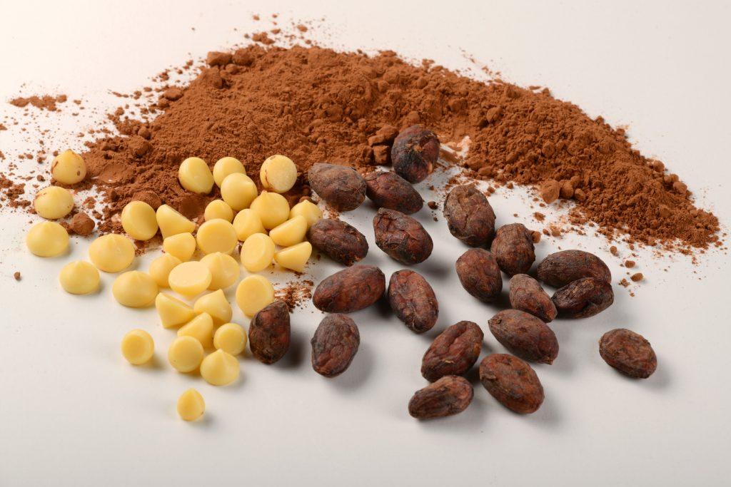 Právě s kakaovými produkty naše balírna začínala. Foto Vojtěch Vlk.